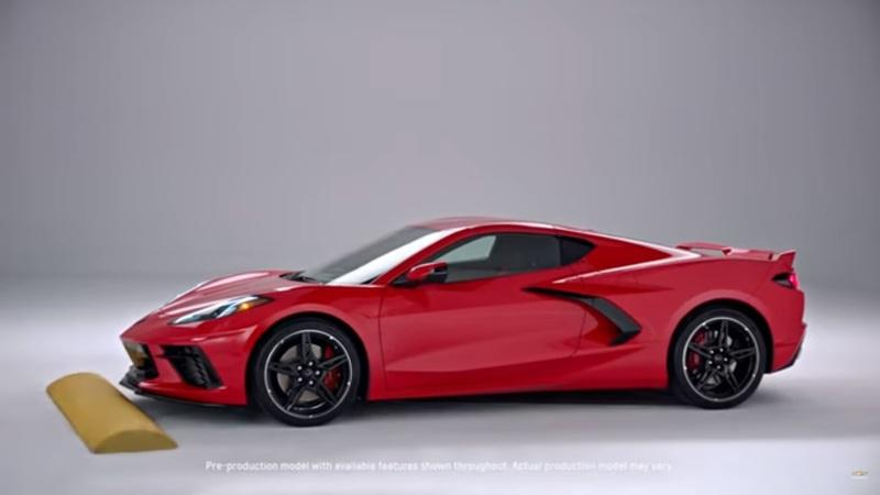 We've Seen Nose-Lift Tech on Super Cars Before, but the 2020 Chevy C8 Corvette Takes it to a Whole New Level