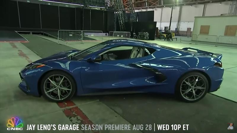 What Does Jay Leno Think of the 2020 Chevy C8 Corvette Stingray?