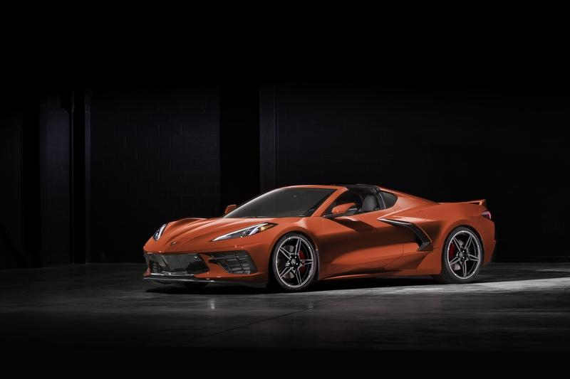 What Exterior Color Options Did We Not See On The 2020 Chevy C8