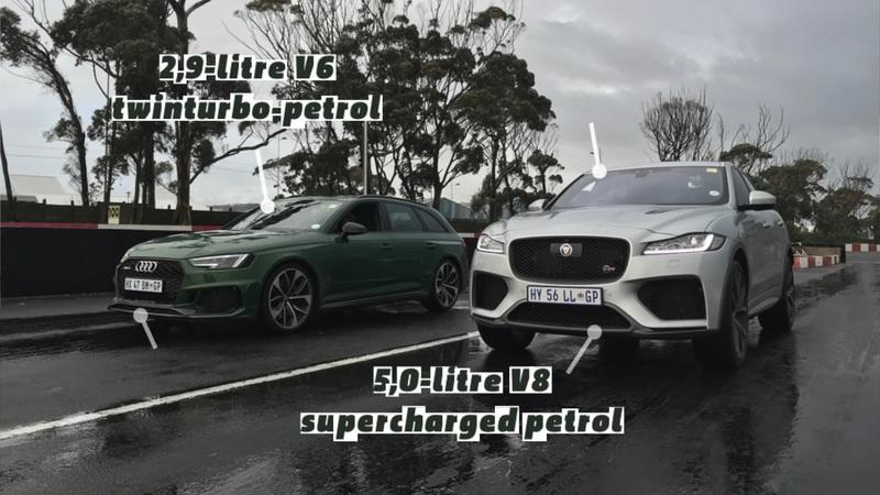 What Happens When You Put An Audi RS4 Avant Against a Jaguar F-Pace?