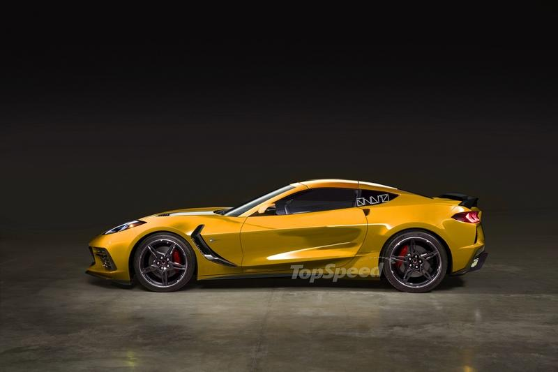 What Would the 2020 Chevy C8 Corvette Stingray Look Like if it Was a Front-Engined Car?