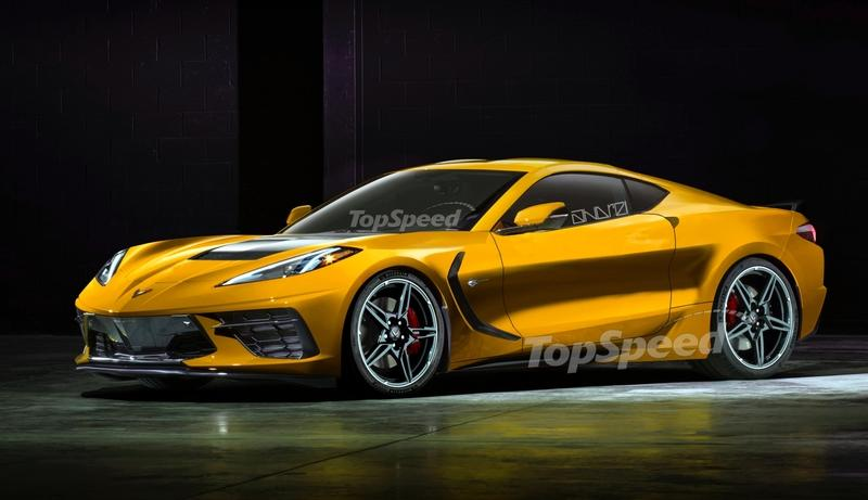 What Would The 2020 Chevy C8 Corvette Stingray Look Like