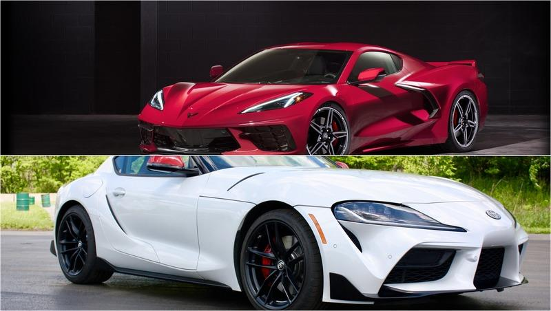 With the 2020 Chevy C8 Corvette Starting at Less Than $60,000, is the 2020 Toyota Supra Even Relevant Anymore?