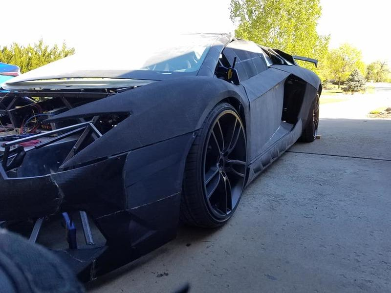 You Don't Need Tons of Money To Own a Lamborghini Aventador - Just Get a 3D Printer