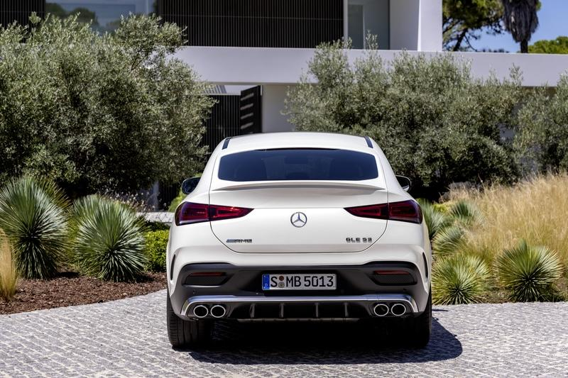 2020 Mercedes GLE Coupé Debuts with Two Diesel Versions, Hotter AMG Variant - image 858025