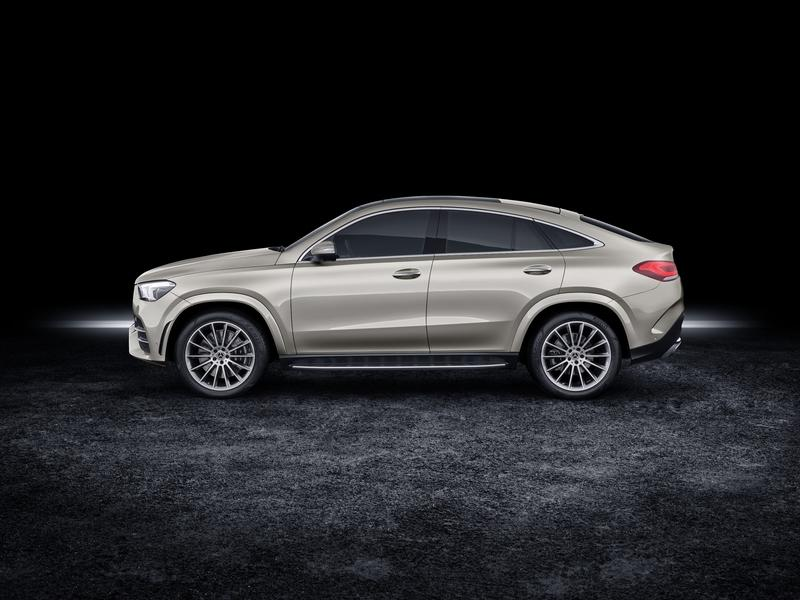 2020 Mercedes GLE Coupé Debuts with Two Diesel Versions, Hotter AMG Variant - image 858009