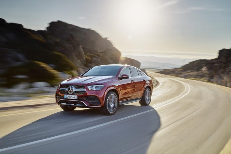2020 Mercedes GLE Coupé Debuts with Two Diesel Versions, Hotter AMG Variant - image 858041