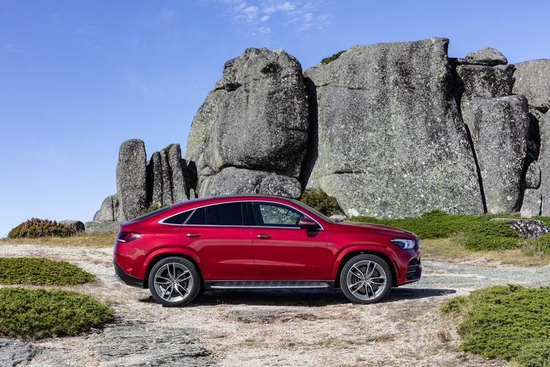 2020 Mercedes-Benz GLE Coupe Exterior - image 858050