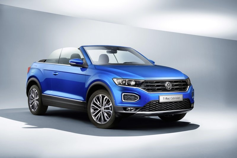 The 2020 Volkswagen T-Roc Cabriolet is your new small high-riding drop top