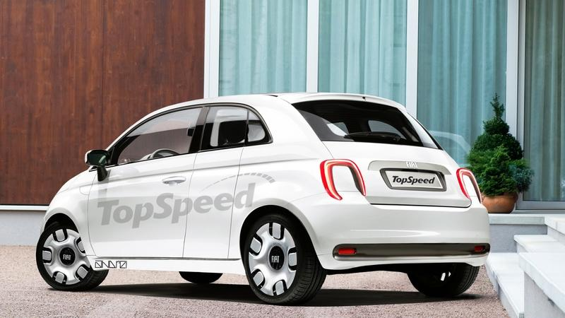 A New EV-Only Fiat 500 Is on the Way, But What Will It Look Like? Exterior Computer Renderings and Photoshop Exclusive Renderings - image 857188