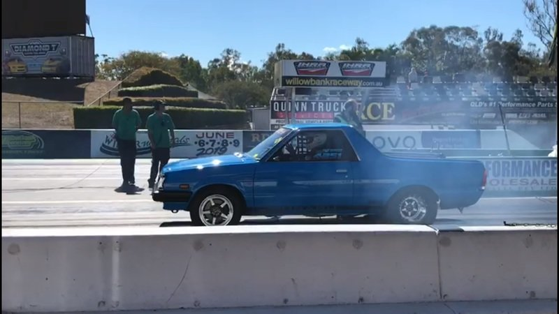 A Subaru BRAT Just Ran a Quarter-Mile in Less Than 8 Second And We're Not Sure if This is Real Life - image 857113