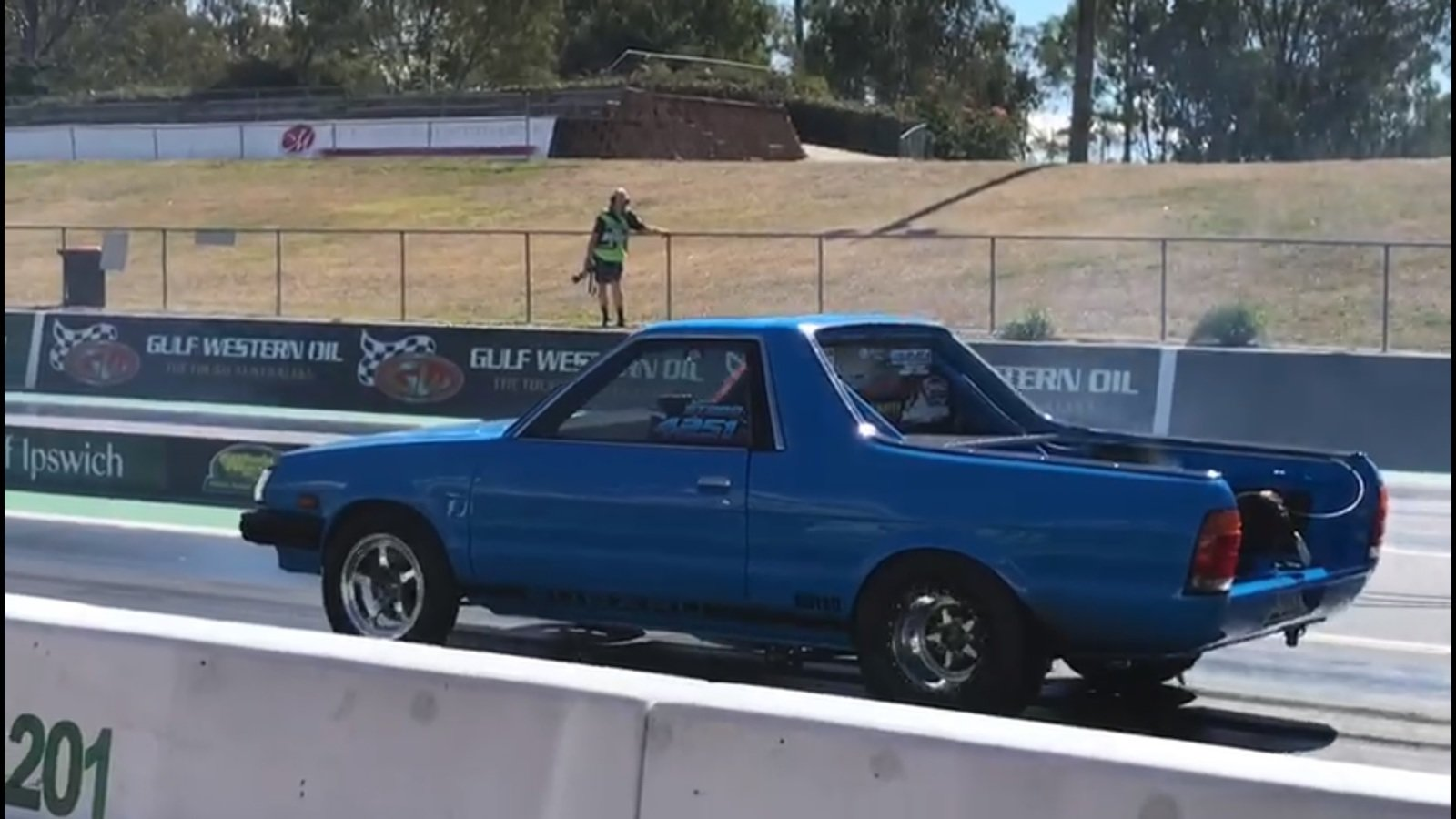 A Subaru BRAT Just Ran A Quarter-Mile In Less Than 8 Second
