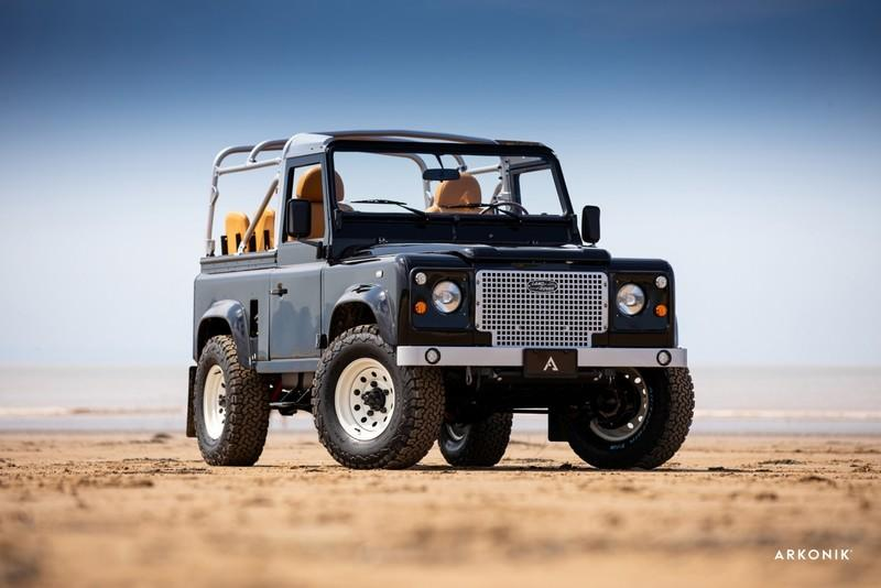 At $170,000, Would You Buy Arkonik's So-Cal 1989 Defender 90?