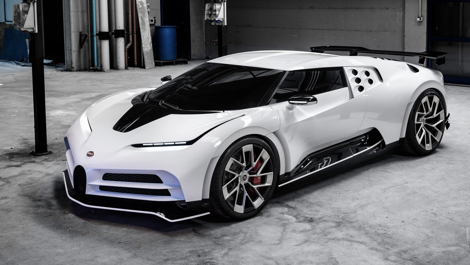 Bugatti Centodieci Is An EB110-Inspired Hot Mess Pictures ...