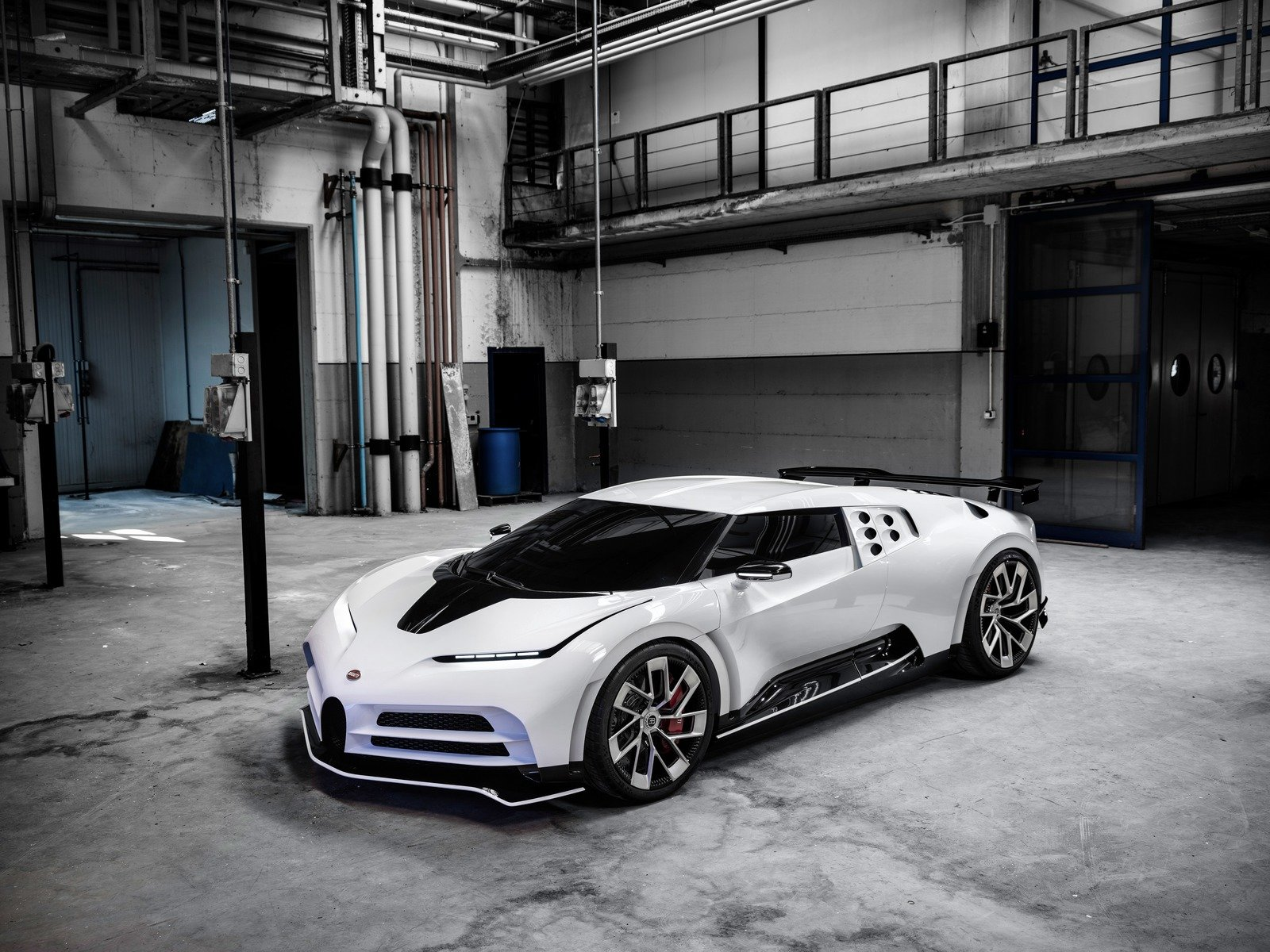 bugatti morphed the legendary eb110 into a new century