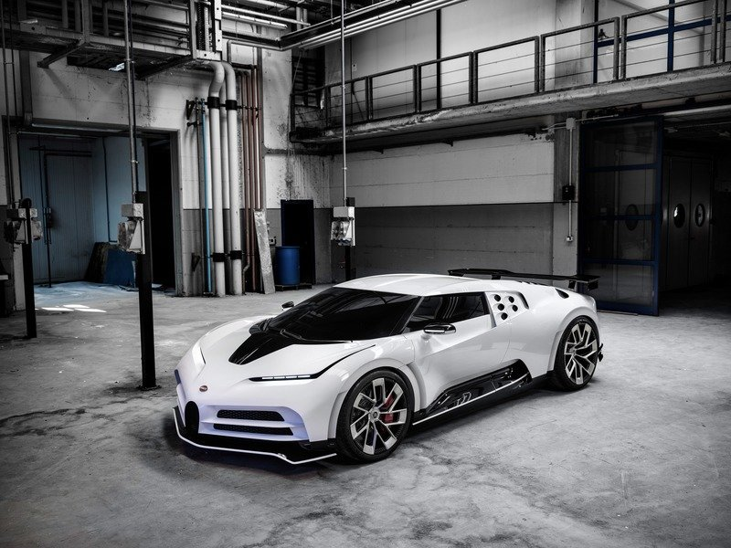 Bugatti Morphed The Legendary EB110 Into A New Century With the Stuningly White 2020 Bugatti Centodieci