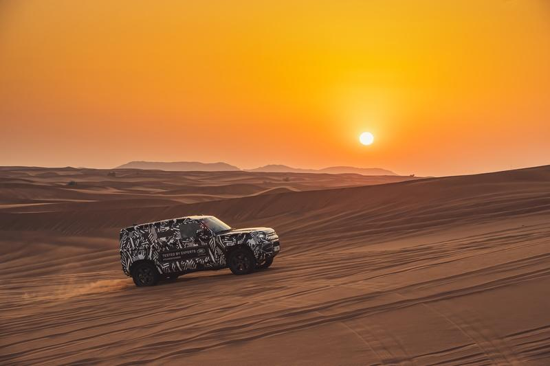 Can The 2020 Land Rover Defender Tackle The Harsh Desert in Dubai?