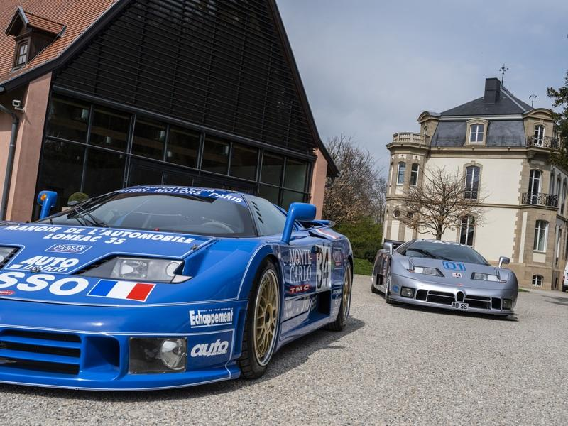Care to Take a Ride in a Bugatti EB 110?