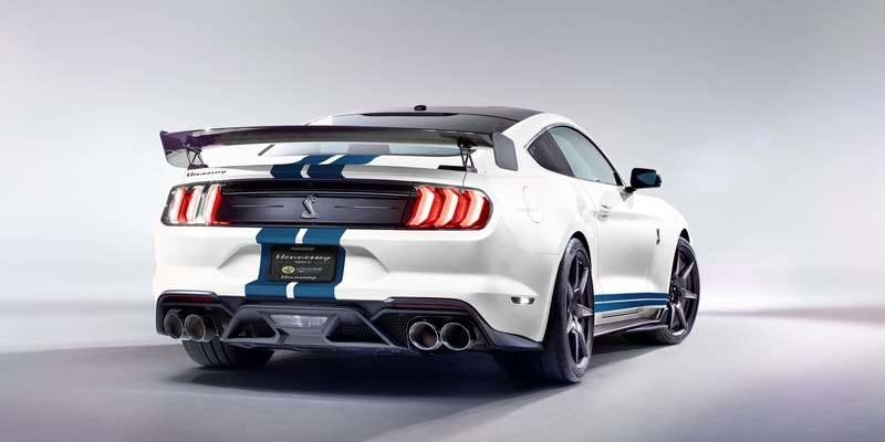 2020 Ford Mustang Shelby GT500 by Hennessey
