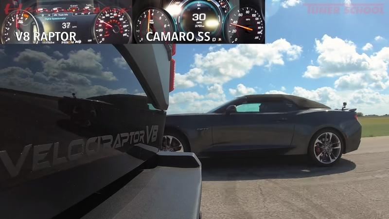 Hennessey's VelociRaptor Is Not Afraid To Take On The Camaro SS