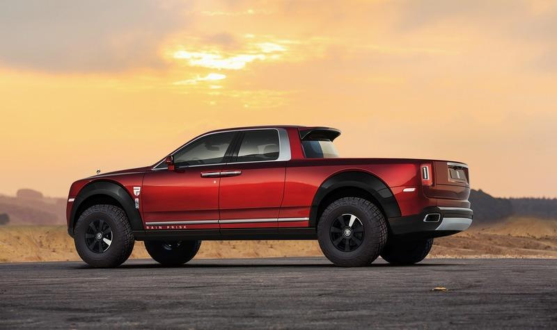 Here's a Rendering of What Could Be The World's Most Expensive Pickup Truck