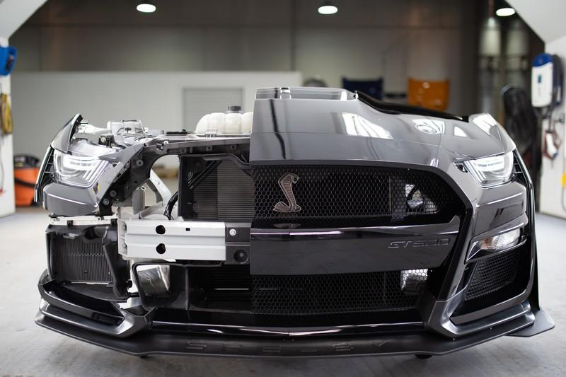 Here's How the 2020 Ford Mustang Shelby GT500 Can Go from 0-100 mph and back to 0 in 10.6 Seconds