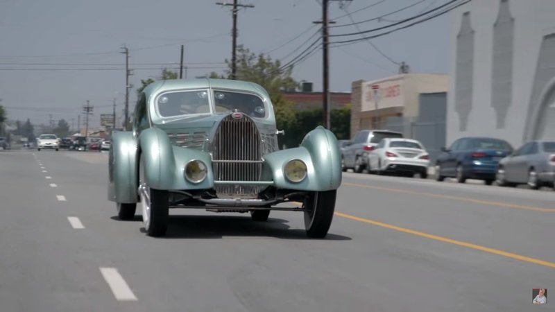 Jay Leno Drives a Hand-Built Replica of the Missing 1934 Bugatti Aérolithe - Can it Live Up to His Expectations?