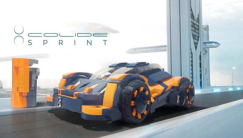 Meet the Colide Sprint - a Supercar Lego Concept That You Need To Support Right Now