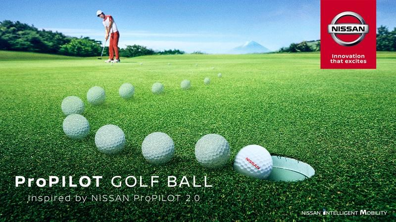 Nissan's Self Driving Tech Can Help You...... Golf Like a Pro?