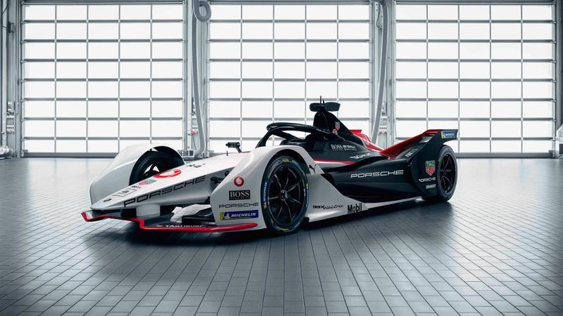 Porsche's 99X Electric Race Car Wants a Piece of Formula E