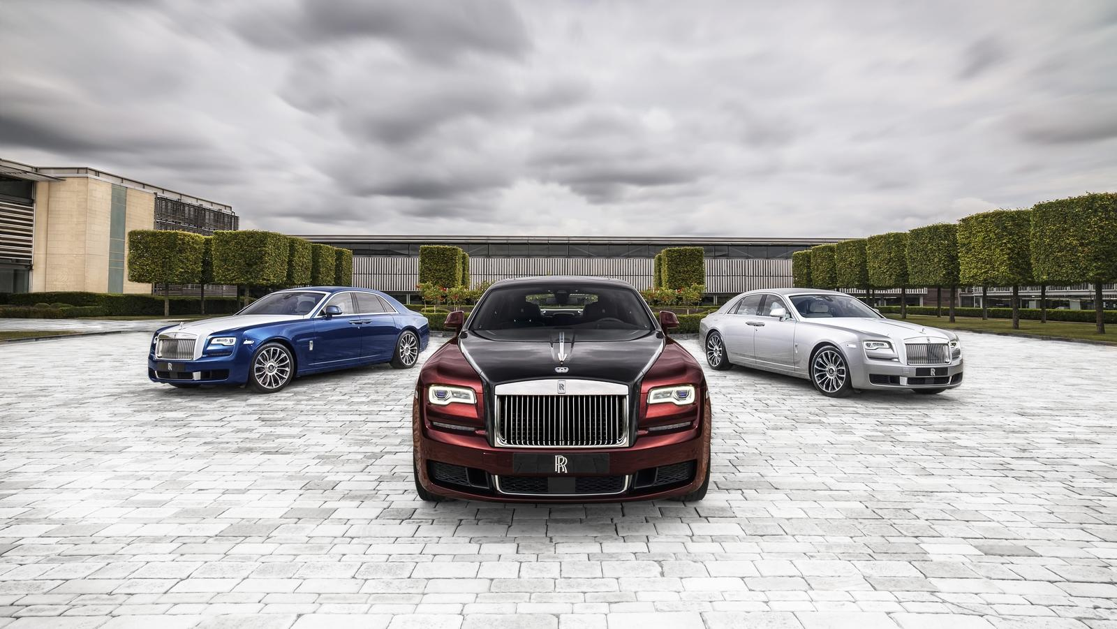 2019 Rolls Royce Ghost Zenith Collection Pictures Photos