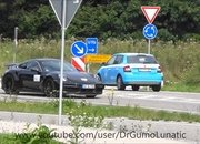 Someone Caught the 2020 Porsche 911 Turbo and 2020 Porsche Taycan on Camera - image 857255