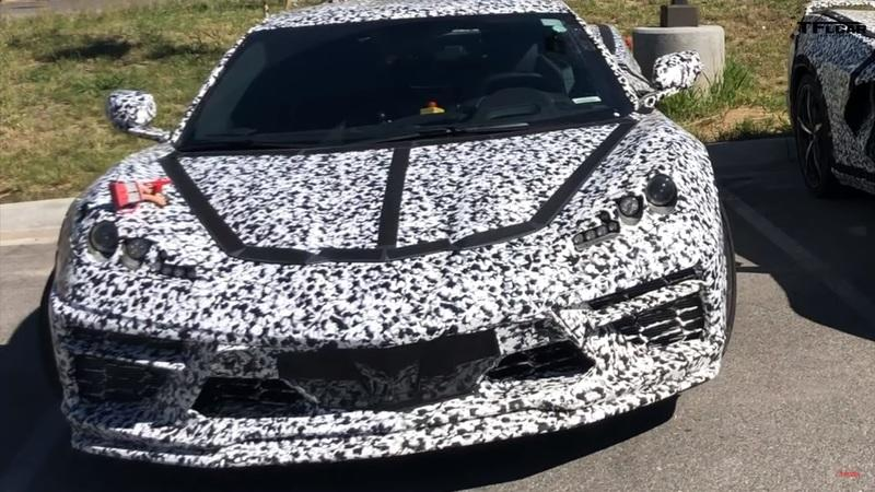 Someone May Have Spotted the C8 Corvette Hybrid but We're Not So Sure