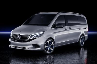 The 2020 Mercedes EQV Is the First Electric Luxury MPV, but