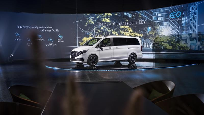 The 2020 Mercedes EQV Is the First Electric Luxury MPV, but Is It More than a V-Class with a Heart of Lithium?