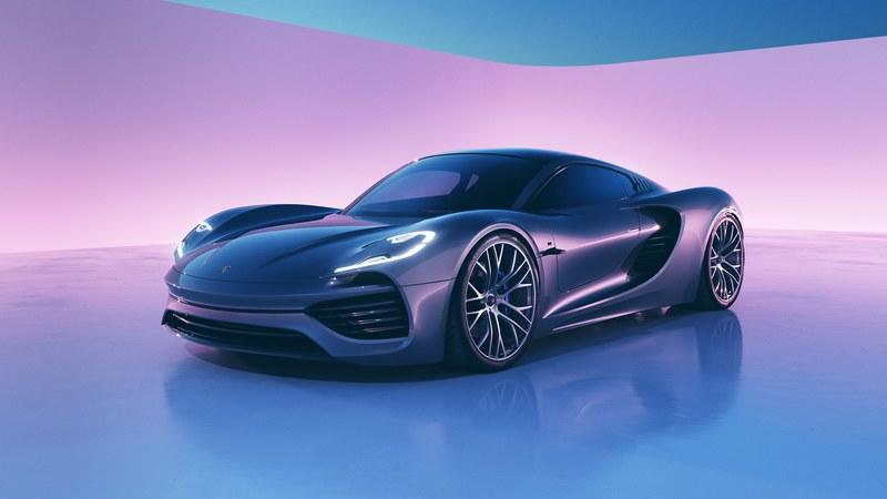 This Intricately-Designed Porsche 988 Vision Rendering Is a Digital Wet Dream You Don't Want to Wake Up From