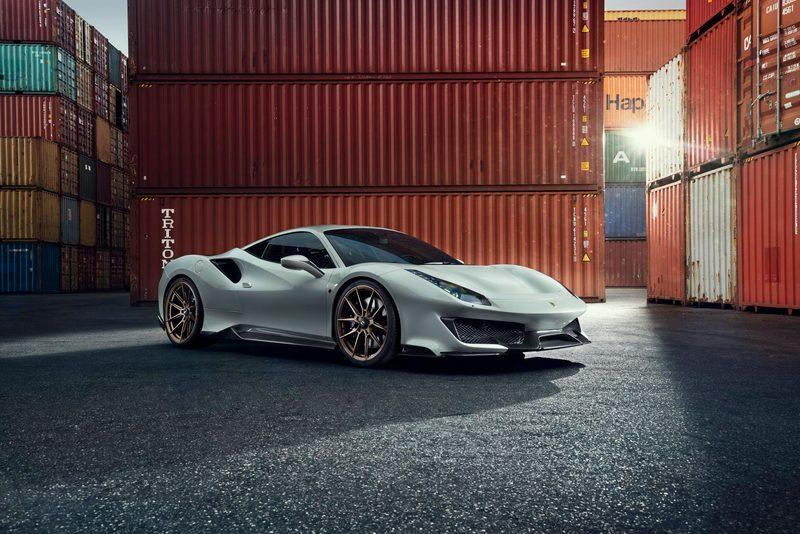 Tuner Has a Go at Ferrari's 488 Pista, Doesn't Ruin It