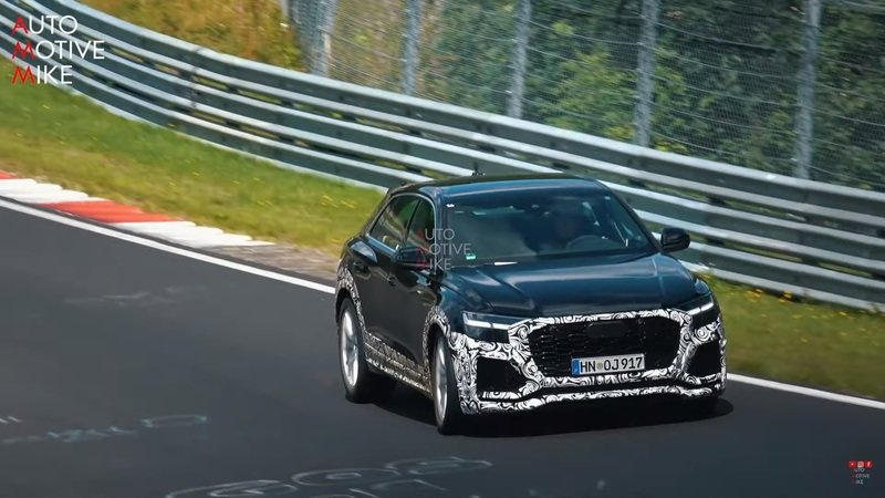 Video: Is That a Mild-Hybrid V-8 Making All That Noise Under the Hood of the 2020 Audi Q8 RS? - image 857914
