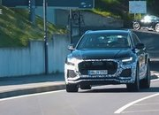Video: Is That a Mild-Hybrid V-8 Making All That Noise Under the Hood of the 2020 Audi Q8 RS? - image 857913