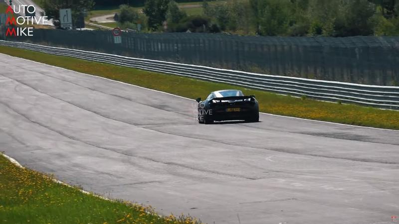 Video of the Day: 2020 McLaren 750 LT Testing On the Nurburgring