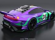 Will These Renderings of a Modern Porsche 911 GT1 Really Come to Life? - image 854649