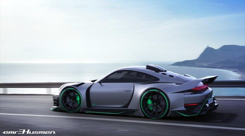 Will These Renderings of a Modern Porsche 911 GT1 Really Come to Life?