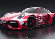 Will These Renderings of a Modern Porsche 911 GT1 Really Come to Life? - image 854672