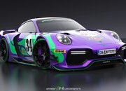 Will These Renderings of a Modern Porsche 911 GT1 Really Come to Life? - image 854646