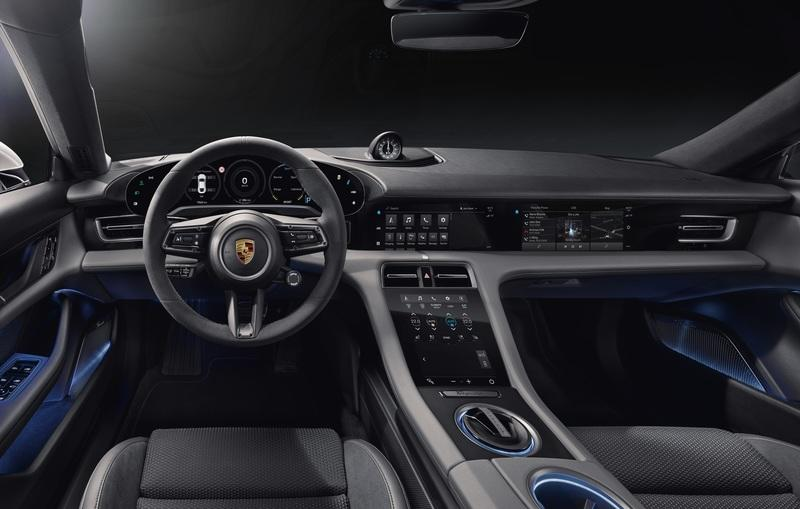 You Can Have Up to Five Screens Inside the New Porsche Taycan