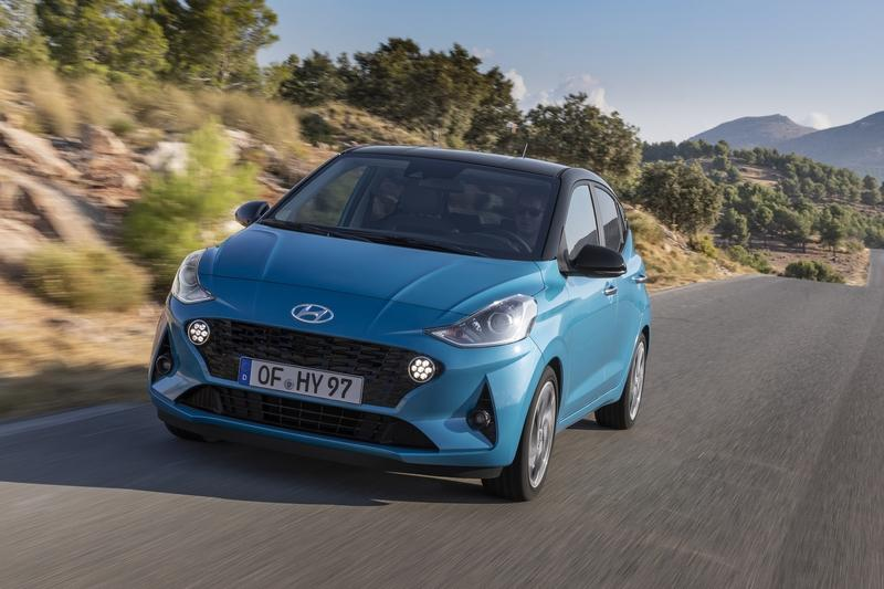 The 2019 Hyundai i10 Is So Cute That You Just Want to Pet It Exterior - image 859378