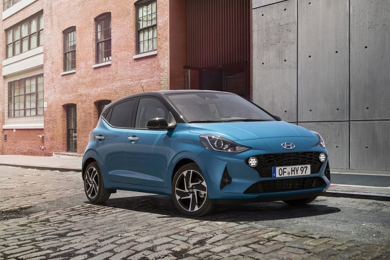 The 2019 Hyundai i10 Is So Cute That You Just Want to Pet It Exterior - image 859351