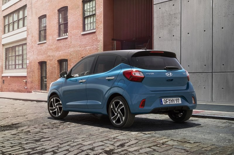 The 2019 Hyundai i10 Is So Cute That You Just Want to Pet It Exterior - image 859352