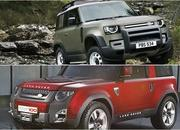 2020 Land Rover Defender looks a lot like the 2011 Land Rover DC100 concept - image 861702