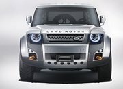 2020 Land Rover Defender looks a lot like the 2011 Land Rover DC100 concept - image 861692